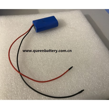 2s1p samsung 26jm battery pack with pcb (3-6a) with 18AWG  lead wires