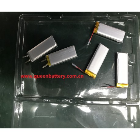 li-polymer li-po battery cell 481850 500mAh 3.7v 1s1p with pcb(1-2a) for mp3 mp4