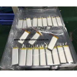 481850 LI-PO rechargeable battery cell 3.7V 500mAh