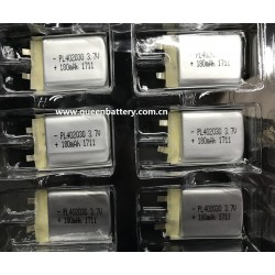 LI-PO li-polymer battery cell rechargeable 402030 180mAh 3.7V