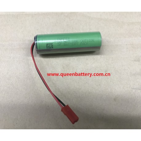 sony 18650 vtc6 us18650vtc6 1s1p 3.7v 3000mah with 3mos pcb with jst connector