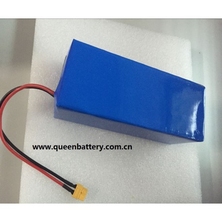 4S10P 14.4V34AH 18650 NCR18650B PANASONIC BATTERY PACK WITH PCB(12A-20A) with XT60 connector