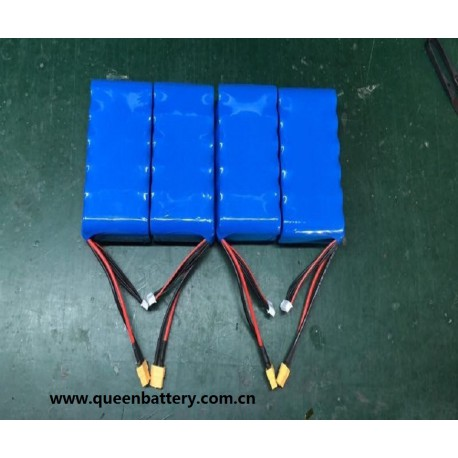 7.4V 28AH 2S6P 21700 SAMSUNG 48G BATTERY PACK WITH balance wires and XT60