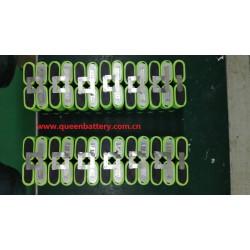 boston swing5300mah 13s2p battery pack 48V10A 48V11AH with bms (20-40A)  for e-bike