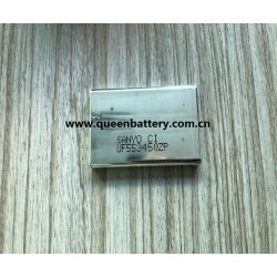SANYO 3.7V 553450 battery cell 553450 1150mah battery cell