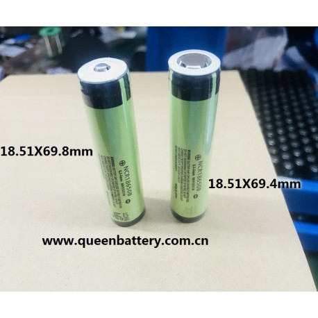 PANASONIC NCR18650B 18650B 3400mah with flat top with pcb