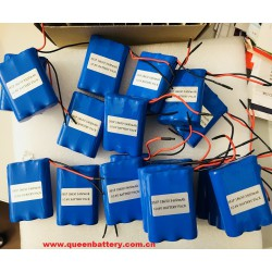 sanyo 18650bf 10.8v 3s1p battery pack with pcb (2-5a) 3400mah