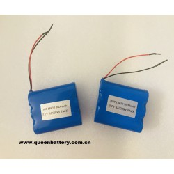 1S3P 3.7v 9600mah lg 18650 e1 battery pack with PCB (5-10A)