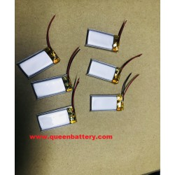 1s1p 401730 150mAh li-polymer li-po 3.7v with pcb(1-2A) with lead wires
