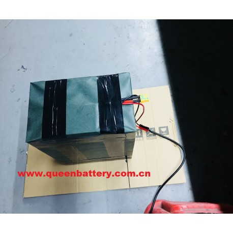 LIFEPO4 BATTERY PACK 20S8P 60V40AH 32650 WITH BMS with xt90 with anderson connector for EV