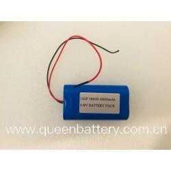 18650 1s2p battery pack LG F1L 3.7V 6800mAh with pcb with lead wires