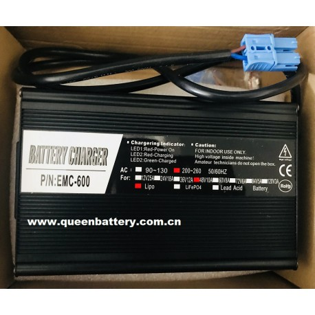 48V10A aluminum battery charger