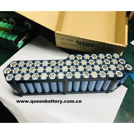 13s4p 48V12.8AH LG MH1 18650MH1 battery pack with BMS (25-50A)