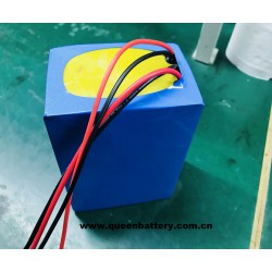 14s3p 18650 52V 51.8v 7800mah battery pack with bms 20-40A