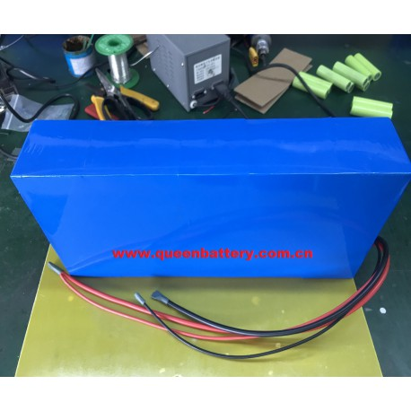 16S10P QB 18650 QB18650 BATTERY PACK 60V26AH with BMS (40-8A) for e-motor e-vehicle