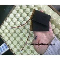 li-po li-polymer battery pack 1s1p 533970 3.7V 2100mAh with pcb with plug