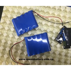 5S1P QB 18650 QB18650 18.5V 3000mAh battery pack with PCB (3-8A) with lead wires