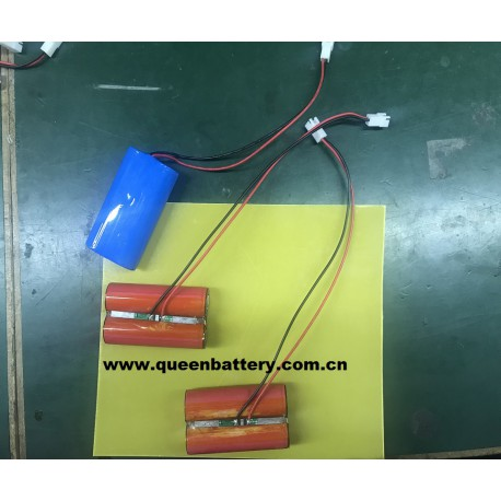 18650  SANYO GA 1S2P 3.6v 3.7v 3500mAh BATTERY PACK with PCB 3-8A with 22AWG lead wires