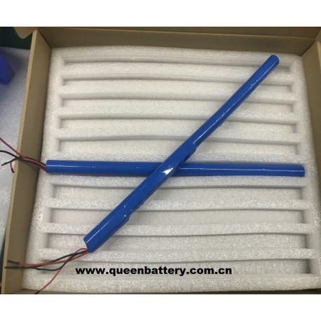 3S2P  QB 18650 QB18650 11.1V 5200mAh battery pack with PCB (8-14A) for electric curtain
