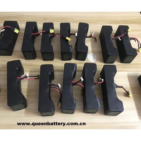 6s4p 20700 21.6V 22.2V 17Ah 20700B NCR20700B SANYO battery pack with 10cm 14AWG XT90 connector with 5cm JST balancer cable