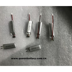 601236 LI-PO battery cell 180mah 3.7v 1s1p with pcb(1-2A) for digital electronic device