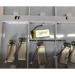 LI-PO LI-POLYMER 422040 3.7v 300mah battery pack with pcb 1A for digital products