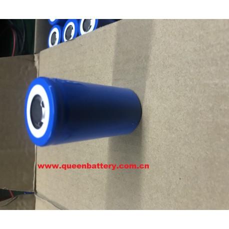 QB32650 LIFEPO4 32650 battery cell 3.3V 5000mAh 15A((GRADE B)
