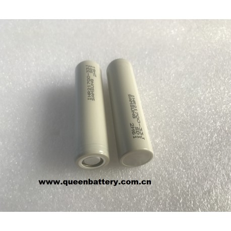 Samsung 21700 INR21700-33J 3300mAh 3.2A battery cell  3.7V