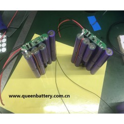 3s5p 11.1v 10.8v 18650 battery pack lg m26 13Ah with PCB (3-6A)