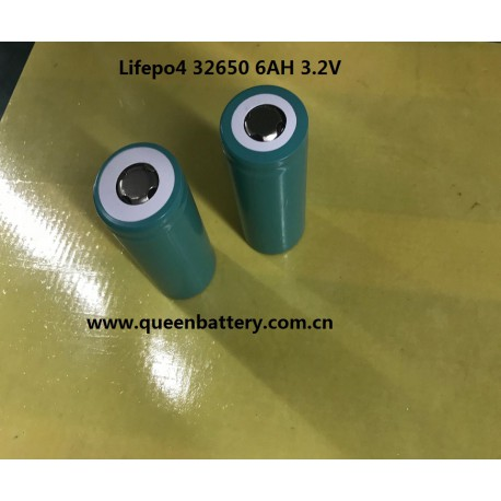 QB32650 lifepo4 QB 32650 6000mah 6AH 18A 3C  3.2V battery cell for EV
