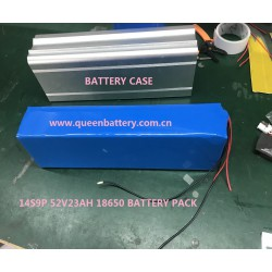 14s9p QB18650 ebike battery pack with bms(20-40A) QB 18650 48V23AH 52V23AH for ebike