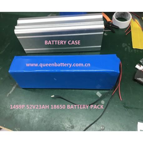 14s9p QB18650 ebike battery pack with bms(20-40A) QB 18650 48V23AH 52V23AH for ebike