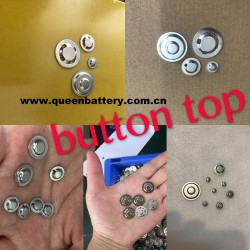 104400 18650 14500 18500 26650 battery button top
