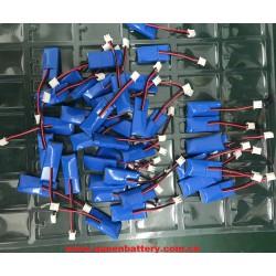 501735 LI-PO lipolymer battery pack 1s1p 3.7v 200mAh with pcb 1A
