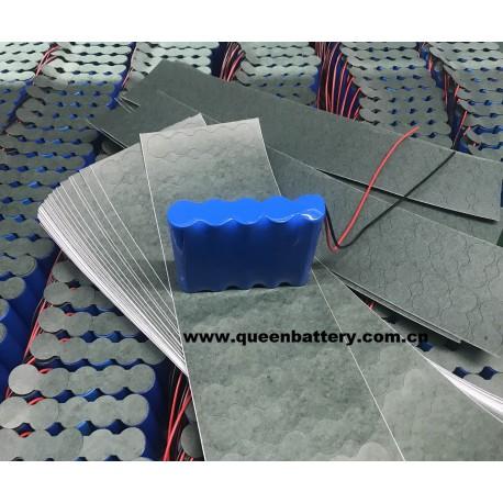 1s5p QB 18650 3.7V 13AH battery pack with PCB 5-10A QB18650