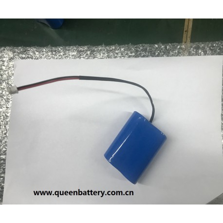 1s2p A123 LIFEPO4 BATTERY PACK for drone 3.3V 5000mah