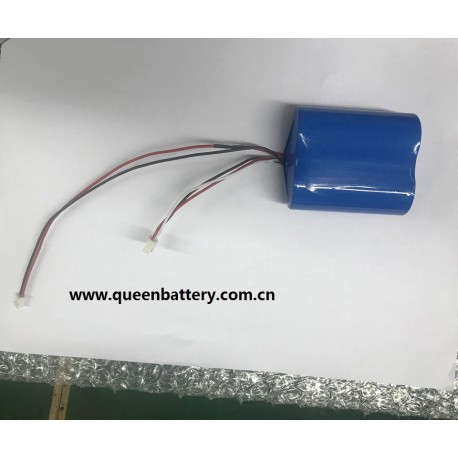 2s1p lifepo4 6.4v 2500mah battery pack for drone