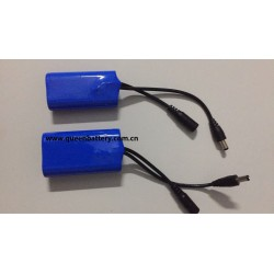 2s1p 21700 lg m50 7.4v 5000mah battery pack with pcb(3-6A) with DC connector 5.5x2.1