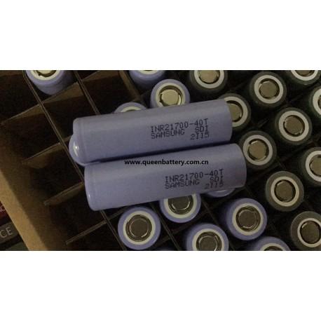 Samsung 21700 40T 4000mAh 35A INR21700-40T battery cell 3.7V