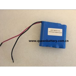 4S1P 14.4V 14.6V SANYO 18650 GA LG MJ1 SAMSUNG 35E BATTERY PACK WITH PCB 3A 3500MAH