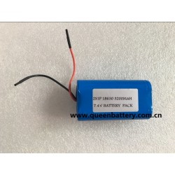 2S1P 18650 LG MH1 INR18650MH1 3200mah with pcb 3-5A 7.4V battery pack