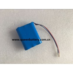 QB18650 3S1P QB 18650 BATTERY PACK 11.1V 2600mah with pcb with 10K thermistor with 3pin connector