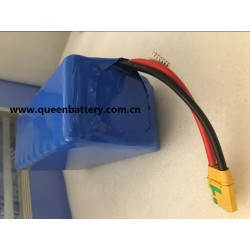6s9p 22.2V 38.2AH sanyo 20700b ncr20700b battery pack with XT90 with JST-XH 7-pin for drone
