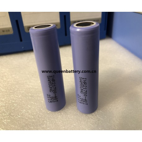 Samsung 21700 40T 4000mAh 35A INR21700-40T battery cell 3.7V