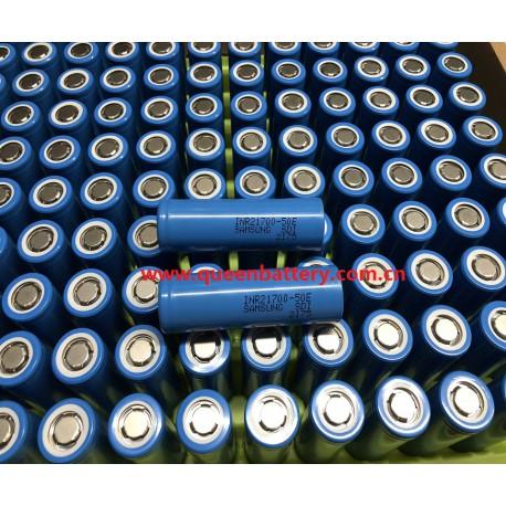 SAMSUNG 21700 50G 50E INR21700-50E INR21700-50G 5000mAh 10A battery cell