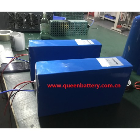 13s10p 18650 48V26AH ebike QB18650 battery pack with bms 35A